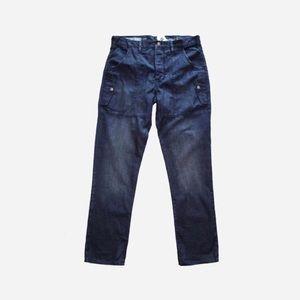 🏈New🏈 GAP 34x32 Mens Drip Crotch Denim Pants NWT